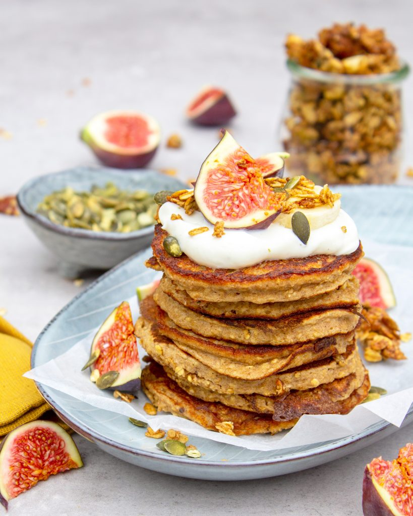 American-pancakes-banaan
