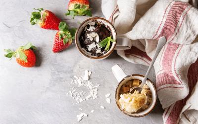 Basis recept voor een gezonde mugcake