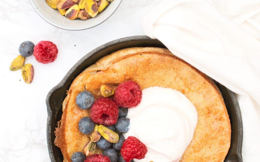 Gezonde Dutch baby pancake