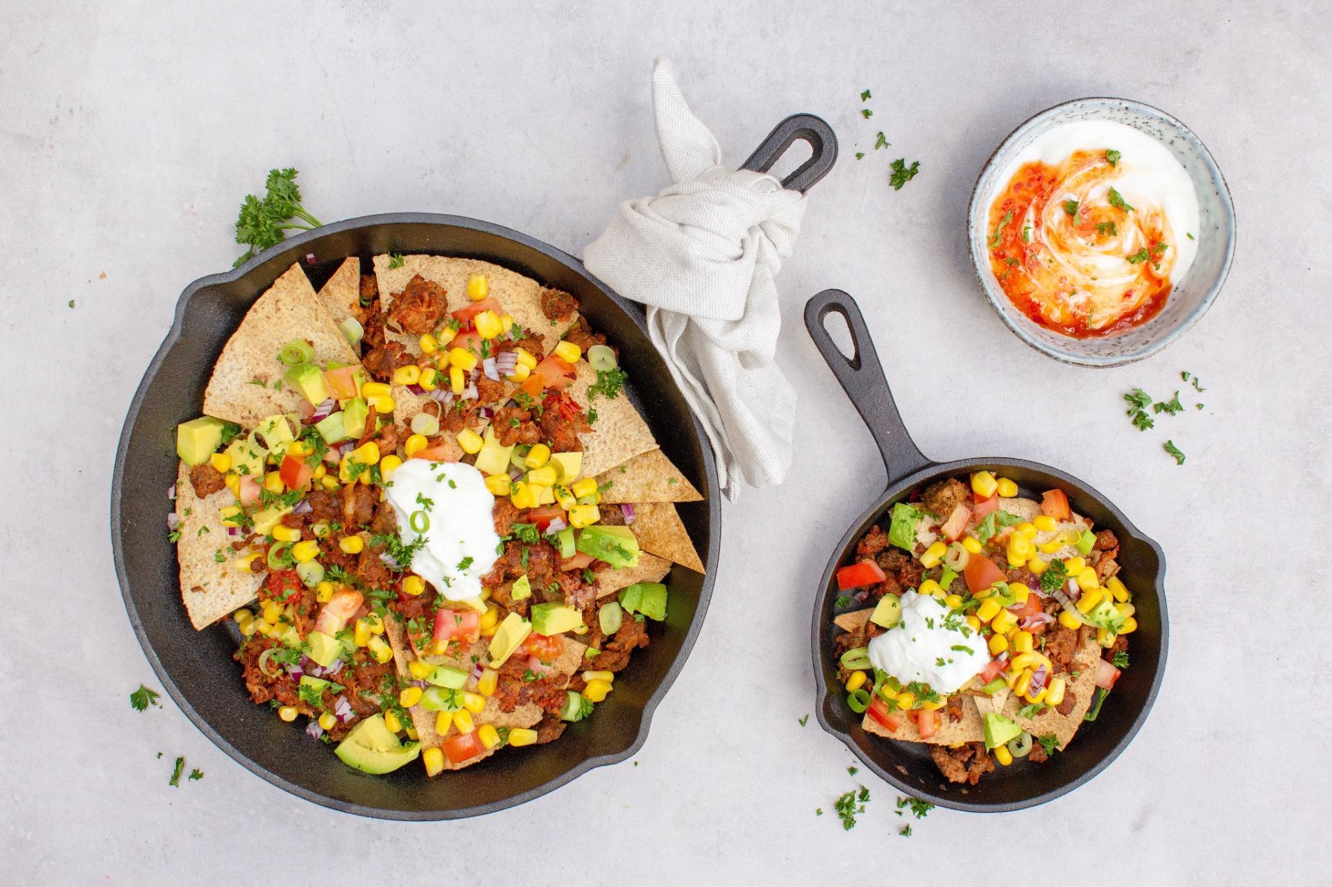 Gezonde nacho's foodlies