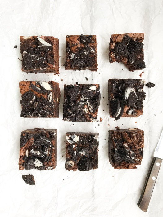 Oreo brownies foodlies