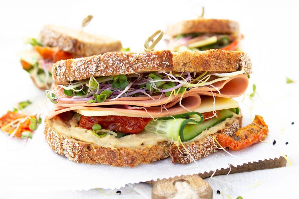 Vegetarisch broodje gezond foodlies