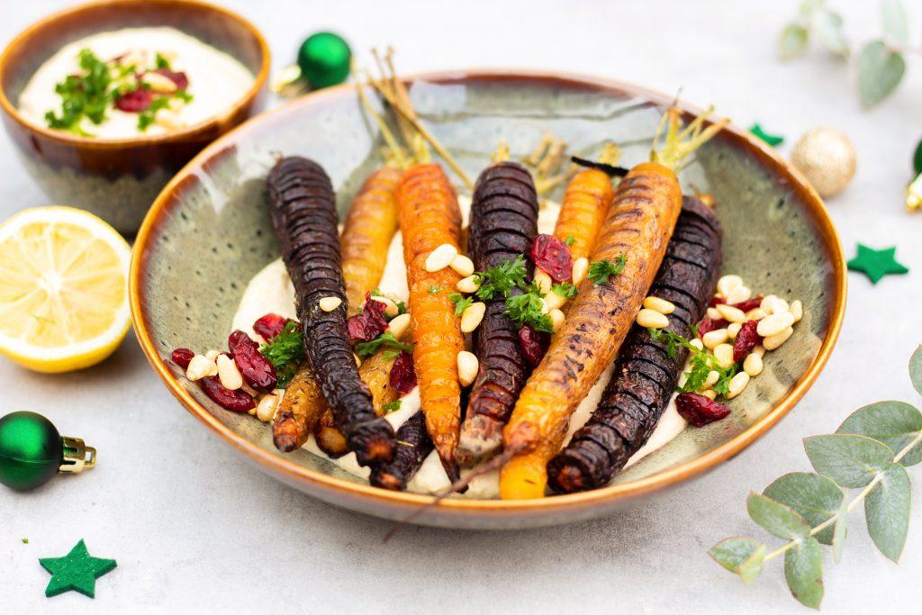 Hasselback wortels foodlies