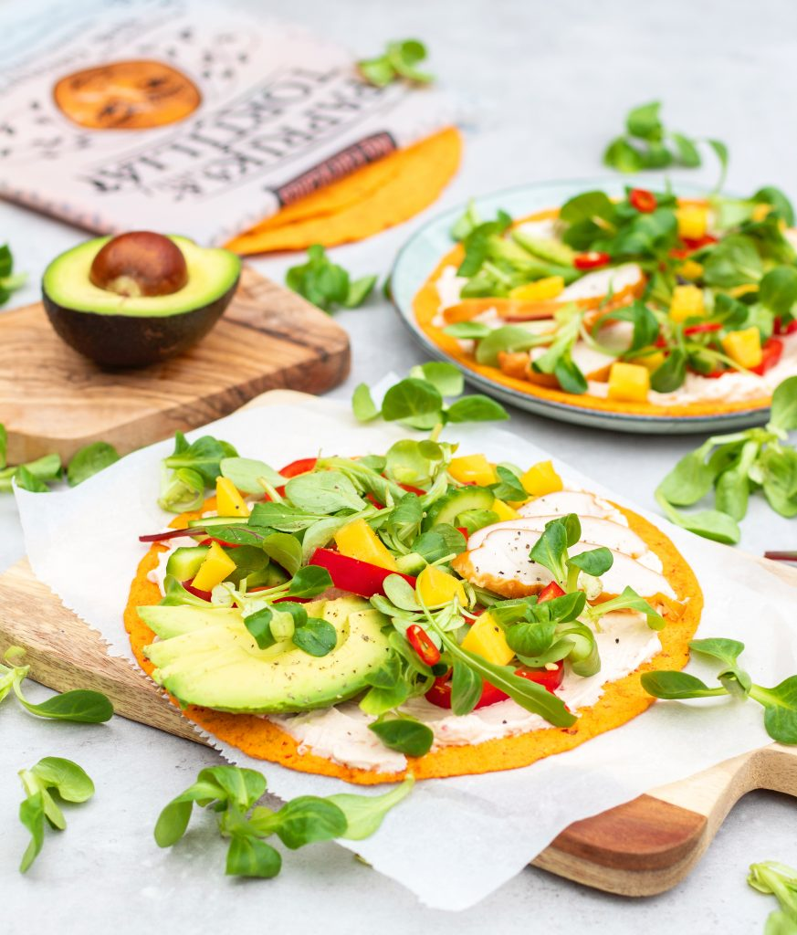 Paprika chili wraps no fairytales kip mango foodlies