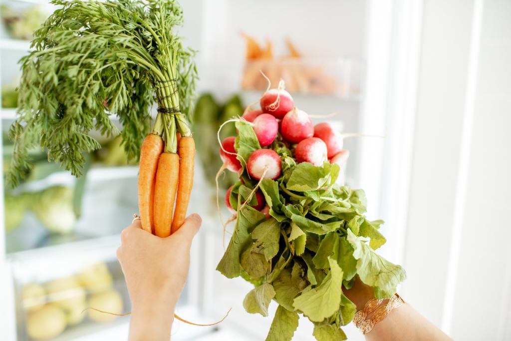 gezonde producten koelkast